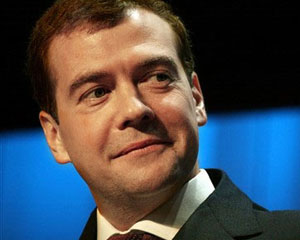 Medvedev Azərbaycan prezidentini təbrik etdi