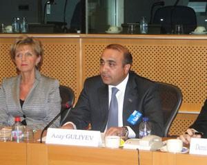 <b>Avropa Parlamentində Azərbaycanla bağlı dəyirmi masa</b>