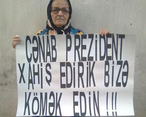 """<b>""""Mənim oğlum sifarişlə həbs olunub""""</b>"""
