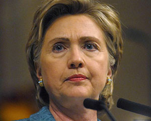 "Klinton ""yox"" dedi"