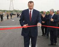 <b>Prezidentin bir ay əvvəl açdığı yol təmirə bağlandı – <font color=red>Fotolar </b></font>