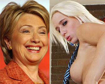 <b>Klintonun porno ulduzla əlaqəsi ortaya çıxdı -<font color=red> Fotosessiya</b></font>
