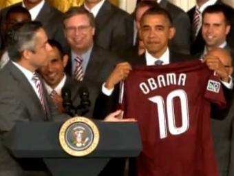 Obama özünü Messi ilə müqayiasə yə etdi