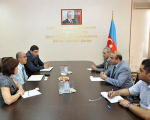 Azay Quliyev Asiya İnkişaf Bankının nümayəndəsi ilə görüşdü
