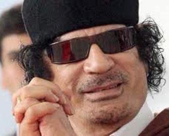 """Qəddafi: """"Yoxsa, fəlakət olacaq"""""""