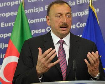 İlham Əliyev diplomat xanımla görüşdü