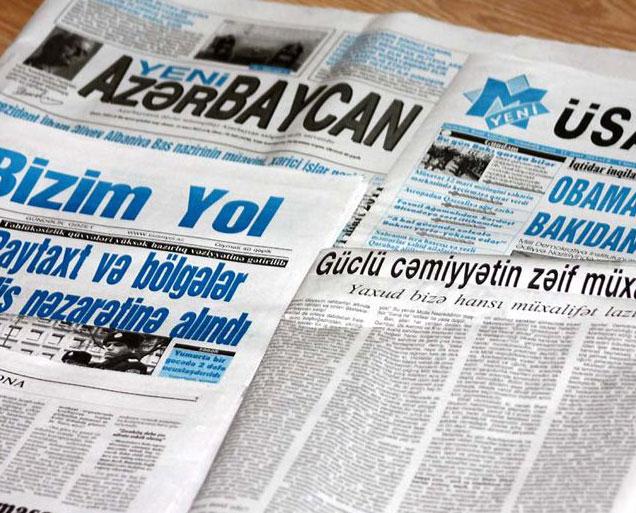 <b>Azərbaycanda radikal həftəlik qəzet gündəliyə keçir </b>