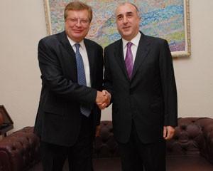 Azərbaycan və Ukrayna nazirləri görüşdü