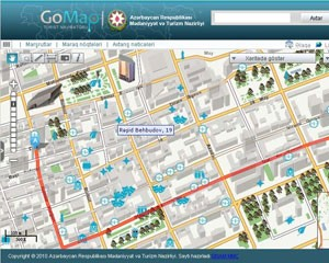 GoMap.az turizm internet-portalının yeni servisləri təqdim olundu