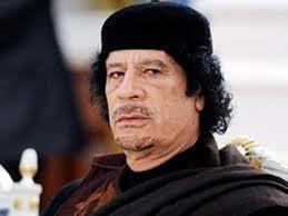 Qəddafi kişilikdən dəm vurdu