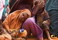 Somalidə aclıqdan ölənlərin miqyası genişlənir