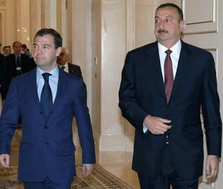 İlham Əliyev Medvedevə başsağlığı verdi