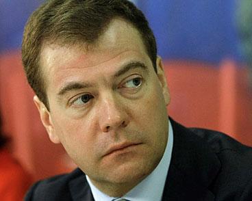 Medvedev təyyarə qəzası yerinə baş çəkəcək