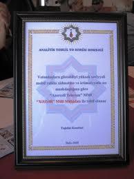 """""""Xəzər"""" Milli Mükafatı sahiblərinə verildi"""