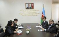 Azay Quliyev Beynəlxalq Maliyyə Korporasiyasının nümayəndəsilə görüşdü
