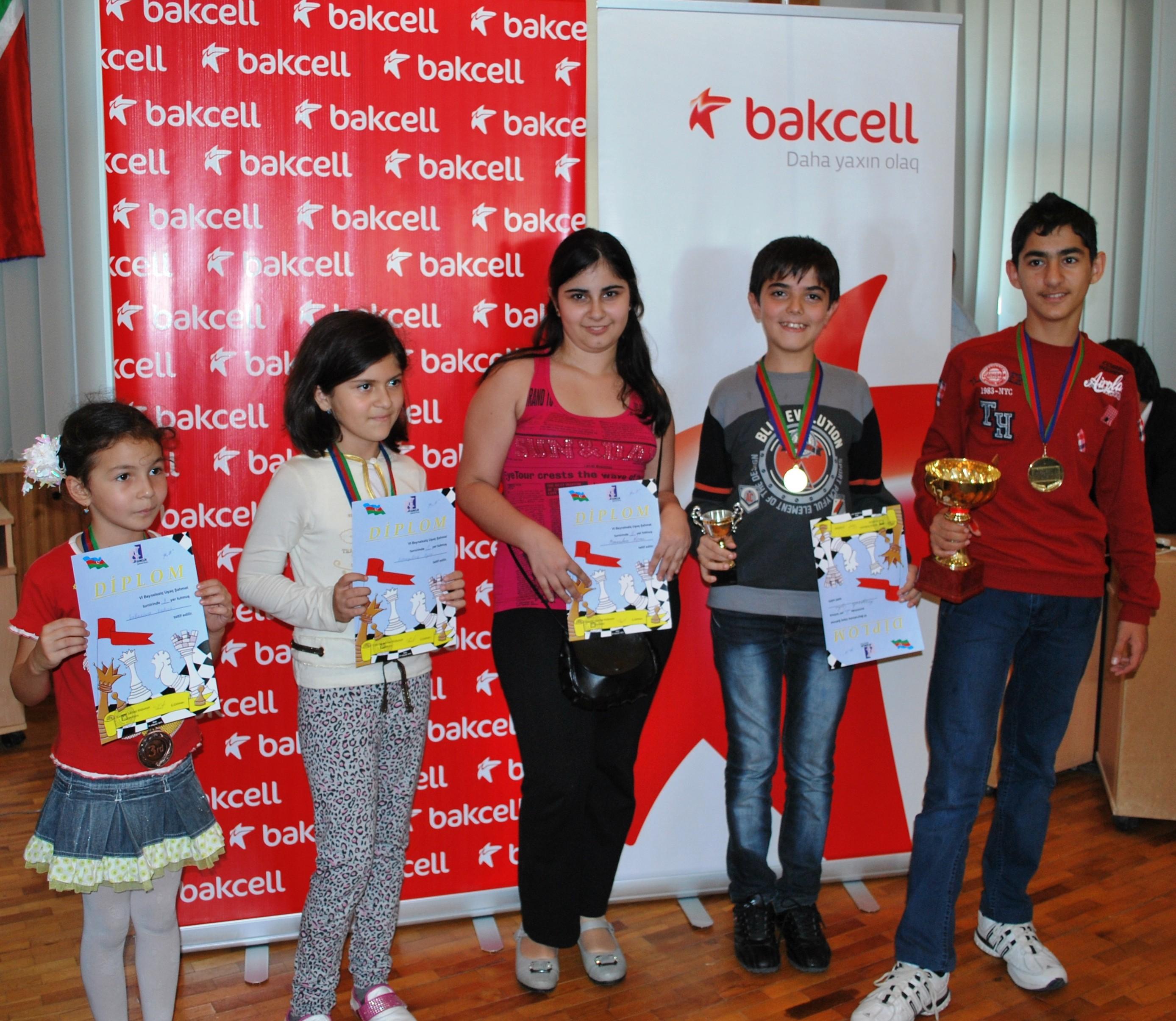 Bakcell Beynəlxalq Şahmat Turnirinə dəstək verib - <font color=red>Foto</font>