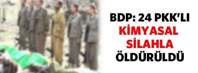 BDP kimyəvi silah iddiası qaldırdı