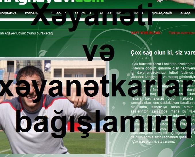 <b>Azərbaycanda qapıçı xəyanətkar adlandırıldı – <font color=red>Foto </b></font>