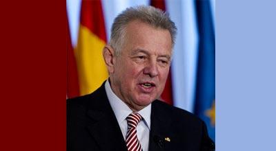 Macarıstan prezidenti Bakıda