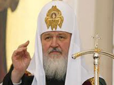 <b>Patriarx Kirill Suriyaya gedir</b>