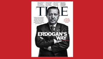 """<b>Ərdoğan """"Time"""" jurnalına üz qabığı oldu</b>"""
