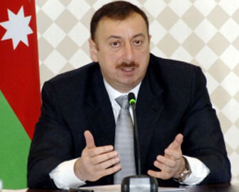"""<b>İlham Əliyev """"Qəbələ"""" klubuna baş çəkdi</b>"""