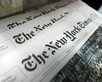 """<b>""""The New York Times"""" Qarabağdan yazdı</b>"""