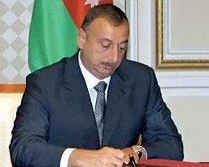 <b>Prezident Azərbaycan-Fransa əməkdaşlığı barədə Memorandumu imzaladı</b>