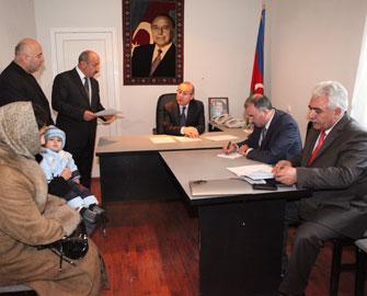 <b>Nazir müavini Samuxda narazı vətəndaşlarla görüşüb </b>