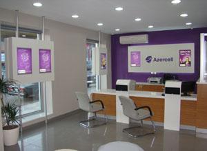 Gədəbəydə Azercell Ekspres ofisi açıldı