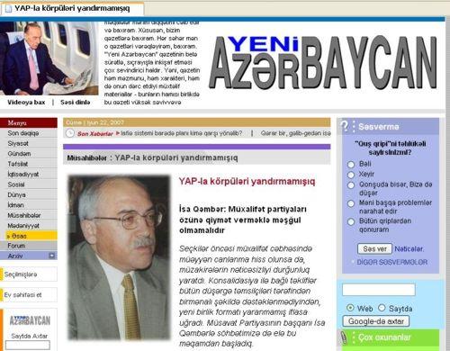 """İran """"Yeni Azərbaycan""""ı dağıtdı"""