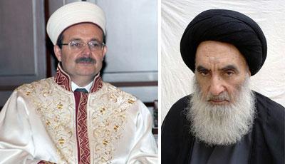 Ayətullah Sistani Türkiyə din rəsmisini Kərbəlaya dəvət etdi