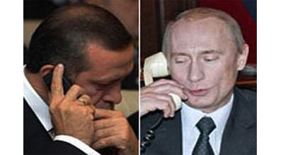 Putin Ərdoğana zəng vurdu