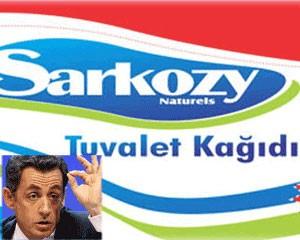 <b>Sarkozi adlı tualet kağızı - <font color=red>Fotolar</b></font>