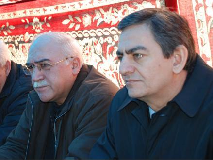 <b>İsa Qəmbər və Əli Kərimli Sabirabadda - <font color=red>Fotolar</b></font>