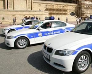 Yol polisi avtomobillərində bort kompyuterlər quraşdırılıb