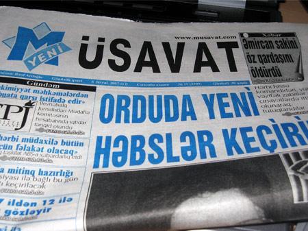 """""""Yeni Müsavat""""ın məsələsi parlamentdə müzakirə olundu"""