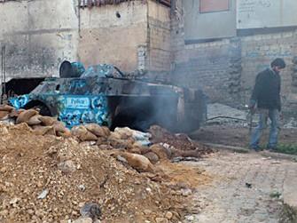 <b>Bəşər Əsəd əhalini tanklarla qırır</b>