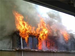 <b>Binəqədi rayonunda ev yandı</b>
