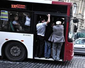 <b>Avtobus sürücülərinə qarşı reyd - <font color=red>Video</b></font>
