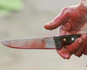 Filarmoniya bağında bıçaqlanma
