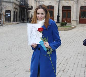 <b>Azərbaycan Qadınlarının 8 Mart aksiyası –<font color=red> Fotolar</b></font>