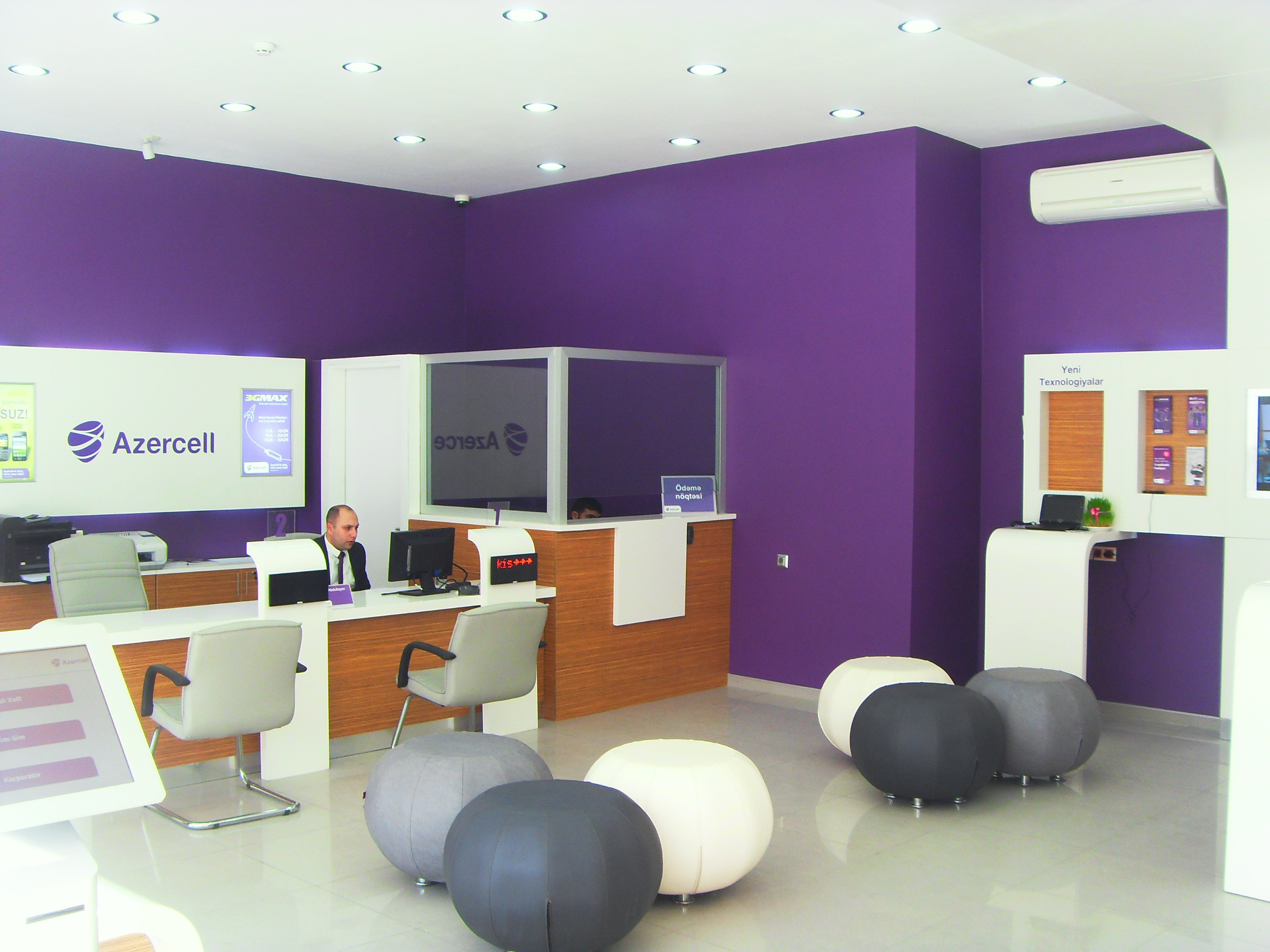 Biləsuvar və Cəlilabadda Azercell Ekspres ofisləri açıldı
