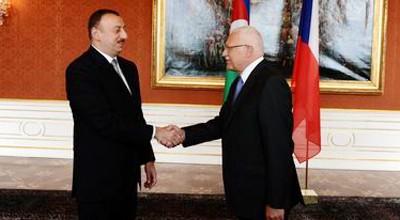 Azərbaycan Çexiya ilə  dörd sənəd imzaladı