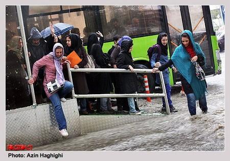 <b>Tehranı su basdı</b>
