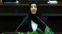 Türkiyə parlamentində ilk hicablı andiçmə