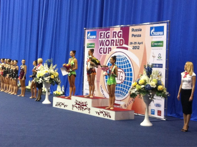 Azərbaycanlı gimnast Dünya Kubokunda qalib oldu