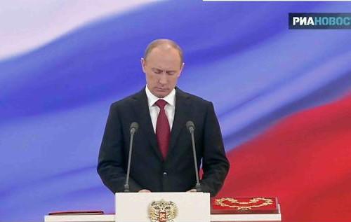 <b>Putin and içdi</b>