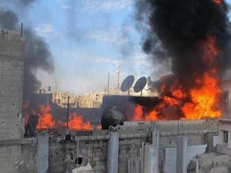 Suriyada güclü partlayış, 40 nəfər öldü