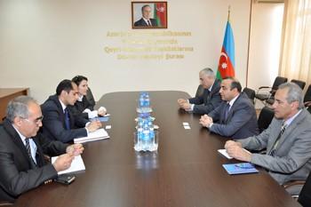 Azay Quliyev Müdüroğlu ilə görüşdü